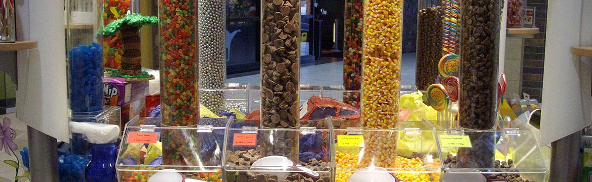 Future Plastic Acrylic Candy Bins